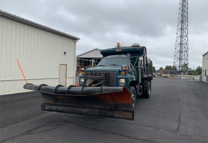 2000 Gmc c8500 dump/plow truck