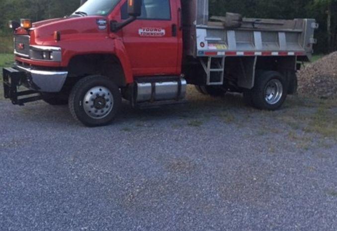 2008 GMC 5500 Dump Truck