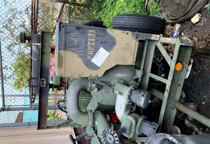 Trailer Mounted GORMAN-RUPP Military Pump