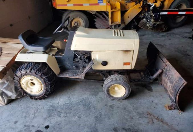 1980s Bolons Tractor with Snow Blower and Plow