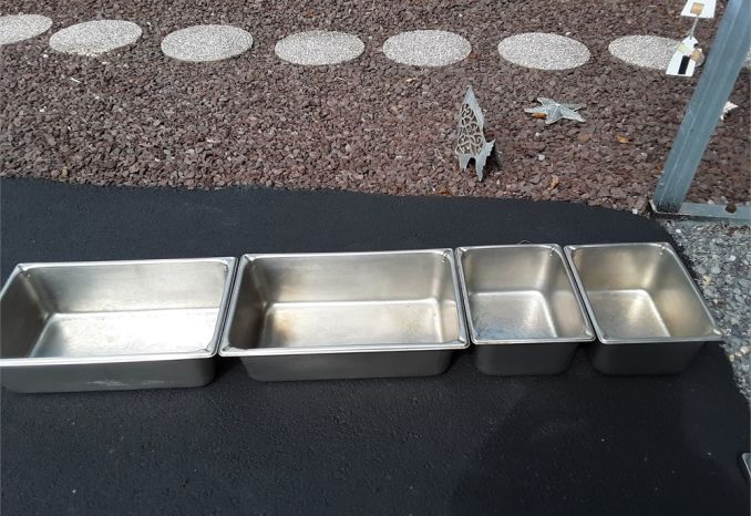 STAINLESS STEEL SUPER  PANS