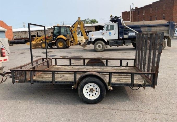 """2000 """"CARRY ON BRAND""""  6'X12' FLATBED TRAILER"""
