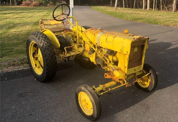 1966? International Cub Lo-Boy tractor