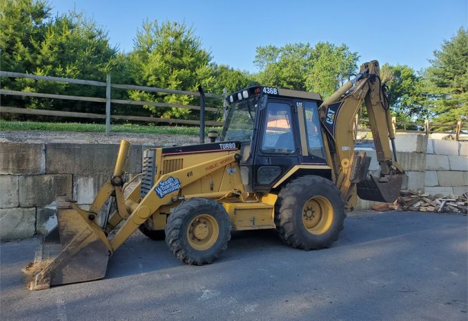 1996 CAT BACKHOE 436B
