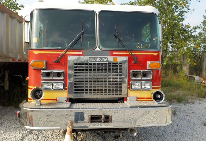 1991 SAULSBURY SPARTAN HEAVY RESCUE UNIT / LOT260-915091-R