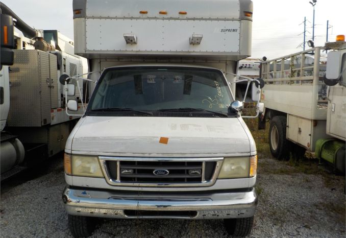 2003 FORD E450 MOBILE OFFICE / LOT150-540277-R