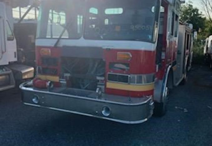1995 KME RENEGADE FIRE PUMPER / LOT209A-950054-NR