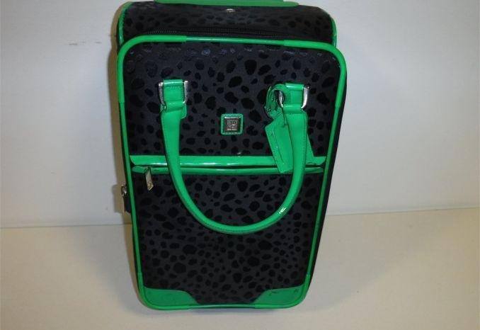 Diane van Furstenberg rolling luggage (GENTLY USED AS-IS