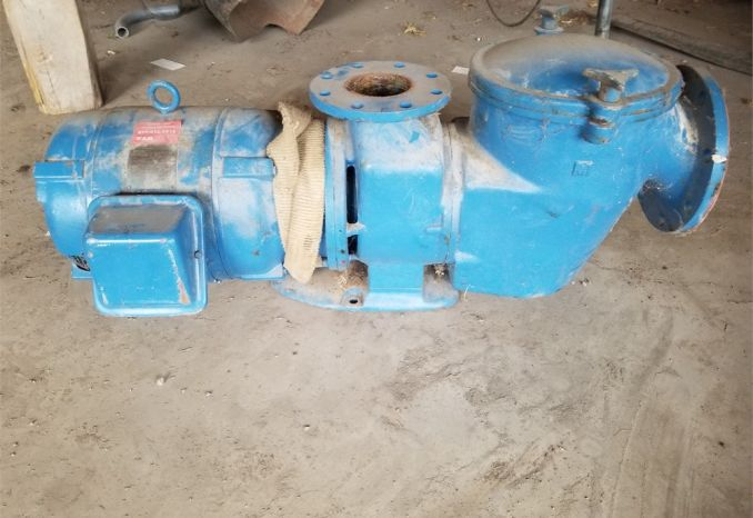 "4"" Discharge Pump and Pool Filter with Motor"