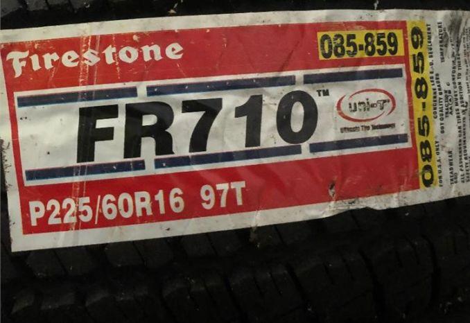 2 Firestone FR710 225/60OR16