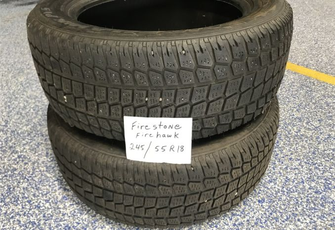 2 Firestone tires