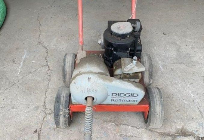 2ea Rigid Sewer cleaning machines