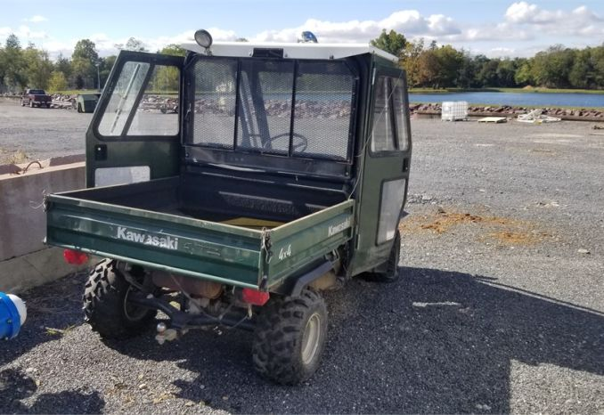 2001 Kawasaki Mule with Cab