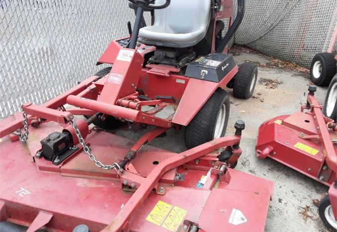 "Toro 328D 72"" lawnmower"
