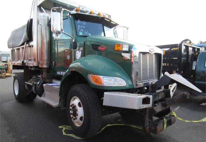 2011 Peterbilt Single Axle Dump Truck