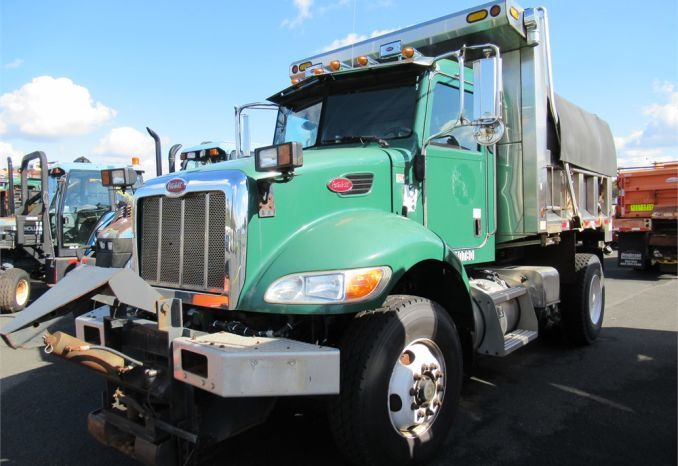 2011 Peterbilt Single Axle Dump Track