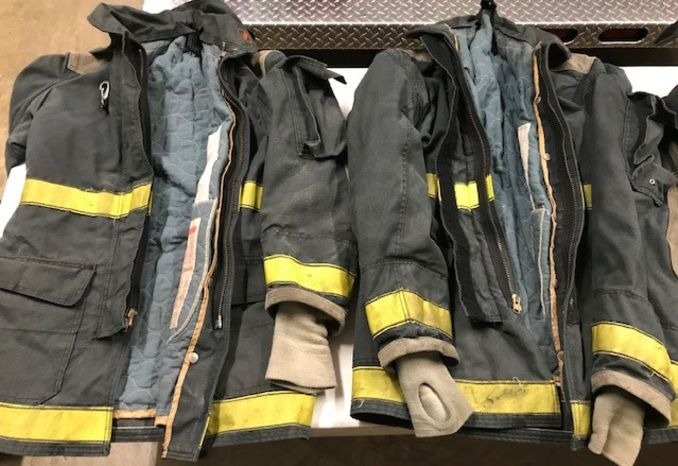 Used Fire Jackets
