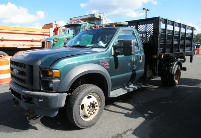 2009 Ford F550XL Hooklift Truck