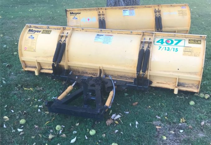 Lot of 2 Snow Plows