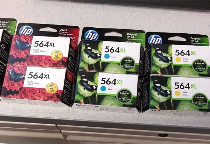 Ink Cartridges: Eleven (11) HP 564 XL