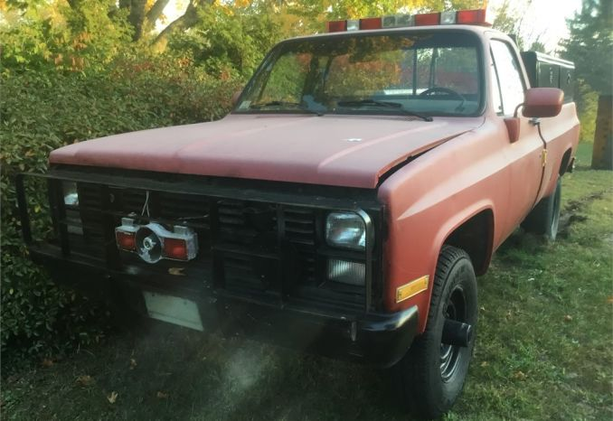 1986 Chevy M1028 Pick-up