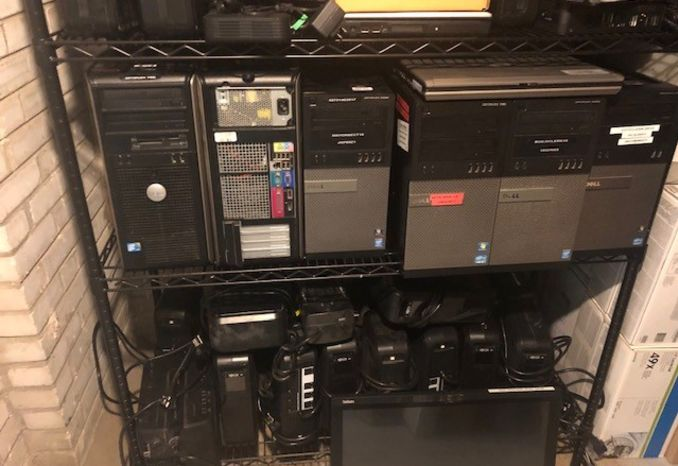 LOT OF COMPUTERS, LAPTOPS, ROUTERS, SERVERS, MONITORS & IT EQUIP