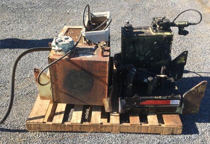Flail Mower Hydraulic Tanks