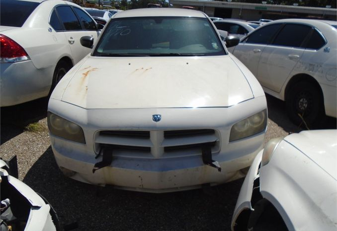 2008 DODGE CHARGER, MISSING FRONT TIRE, POSSIBLY MISSING ENGINE P