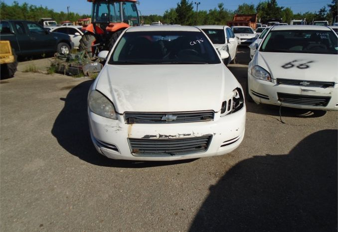2009 Chevy Impala, does not run, no key, possibly missing engine