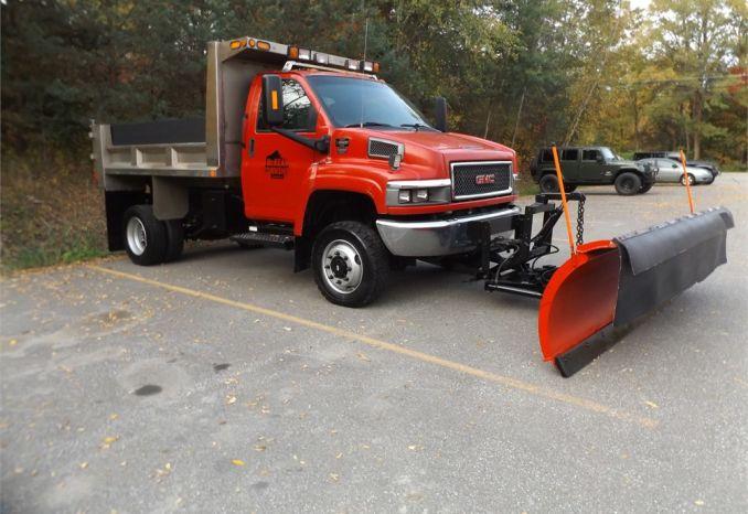 2008 GMC C5500 4 WD Dump Truck