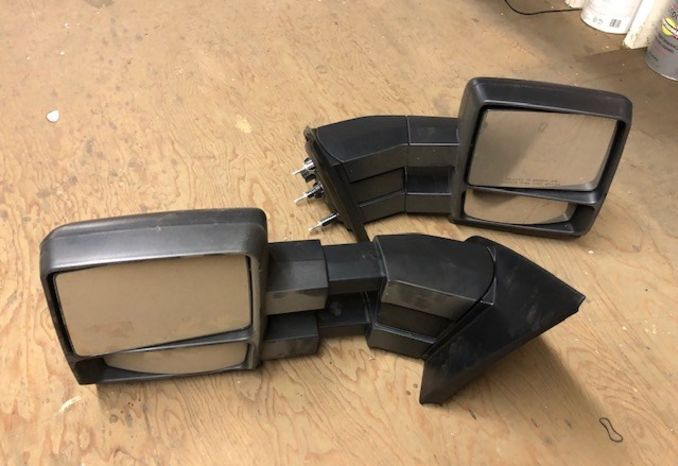 Ford F-150 tow mirrors