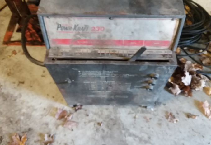 MISC. TOOL LOT • WELDER & SUPPLIES • SAW BLADES • HYDRAULIC PRESS