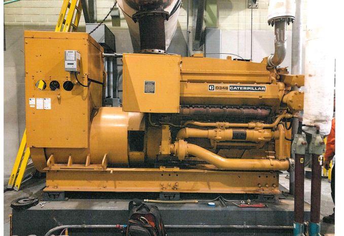 1972 Caterpillar D348 Diesel Generator