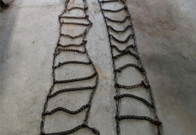 Tire Chains for 11 R 225 (Singles)
