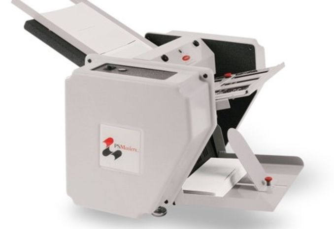 PS Mail Pressure Seal Machine for Zfold & EZFold Checks. Mailer.