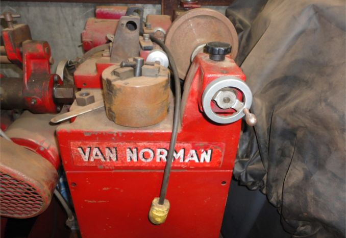 Van Norman Brake lathe