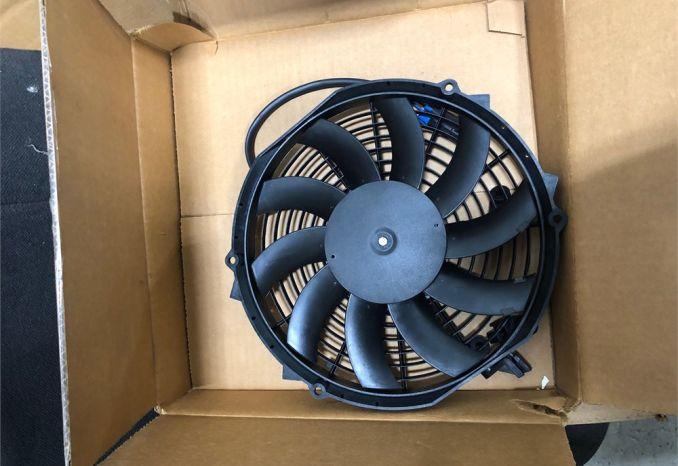 (2) Electric fans