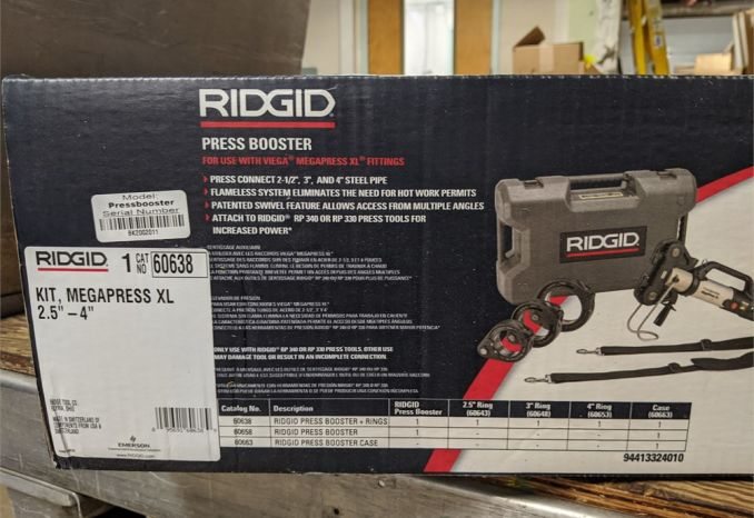 RIGID 60638 PRESS BOOSTER