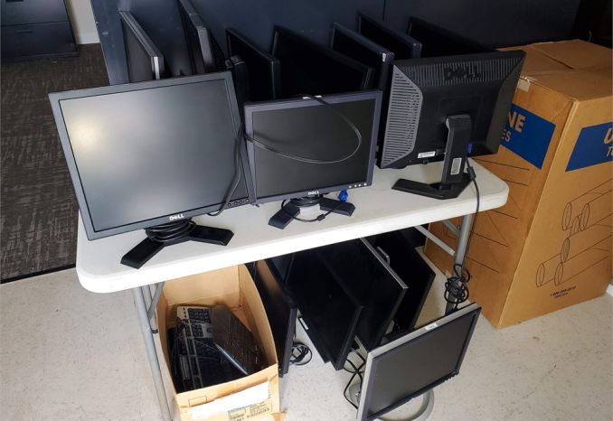Computer Monitors & Keyboards