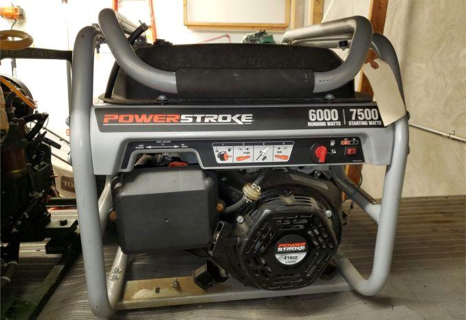 Powerstroke Generator 414CC 6000/7000