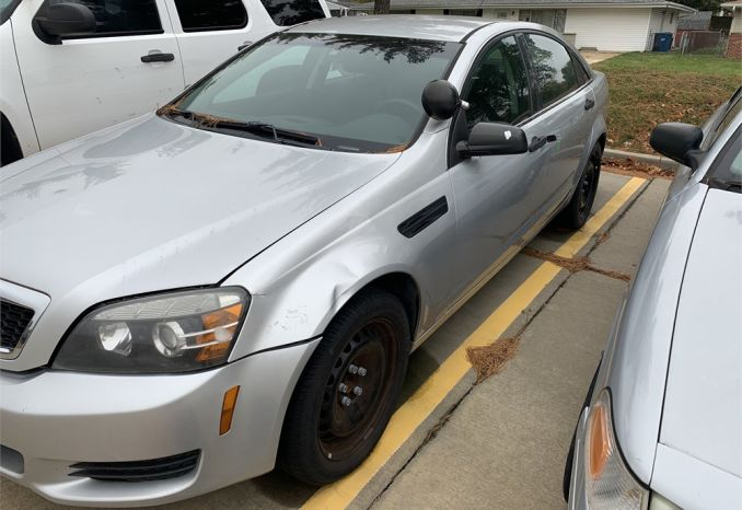 2013 Chevy Caprice police package