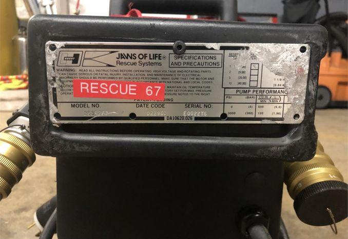 Electric Hurst Pump Power Unit