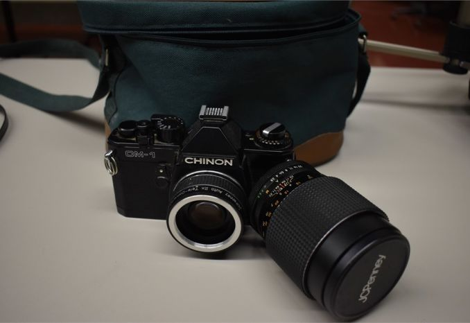 Chinon CM-1 - with extra lens and bag - sold as is  - has not bee