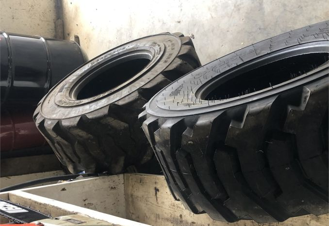 FRONT BACKHOE TIRES