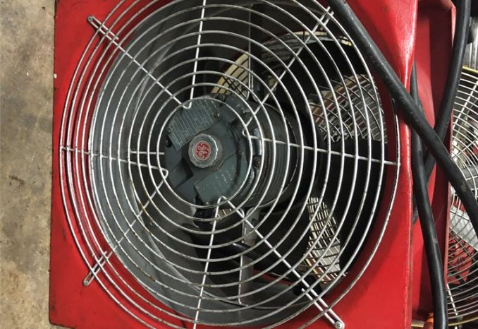Negative Pressure fan