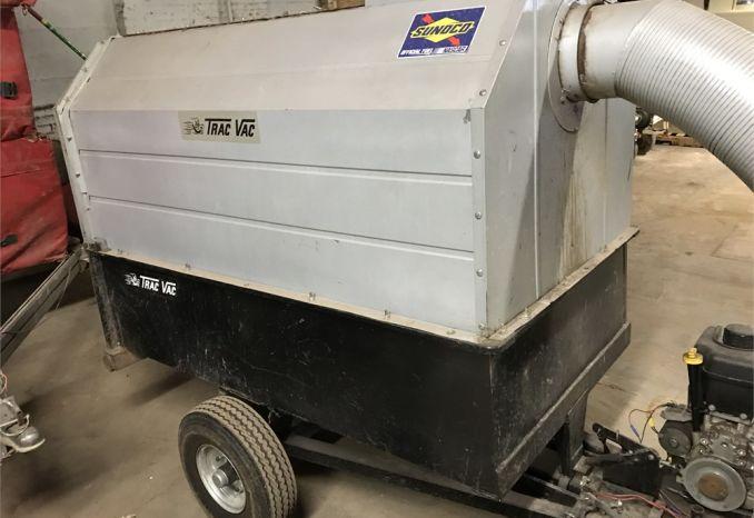 Briggs Trac Vac - 16.5 hp - Modified Axel and Bumper
