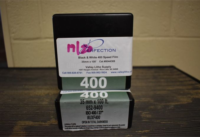 B and W-35 mm-Bulk Film-400 speed-100 Ft. Roll-2 rolls-set 1