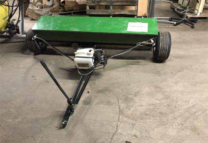 Crop Care Drop Spreader with Foam Marker