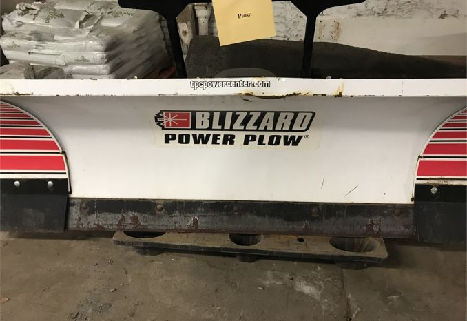 Blizzard Snow Plow