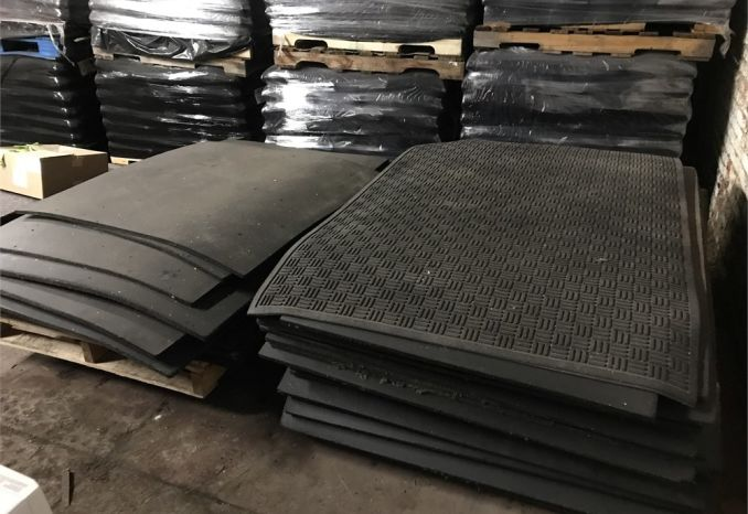 "Weight Room Floor Mats - 31 units - 48"" x 72"""